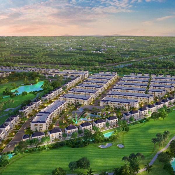 """Sức hút kỳ lạ của đô thị sinh thái golf đầu tiên tại Long An: """"Sinh thái tại gia – sân golf quanh nhà"""""""