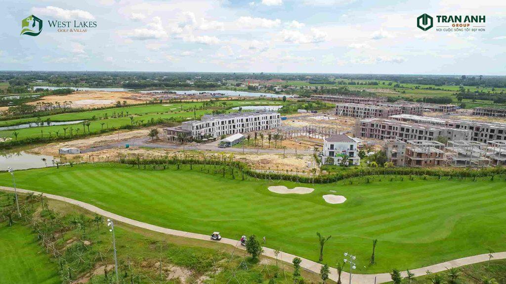 Tiến độ dự án West Lakes Golf & Villas mới nhất ngày 30/7/2020