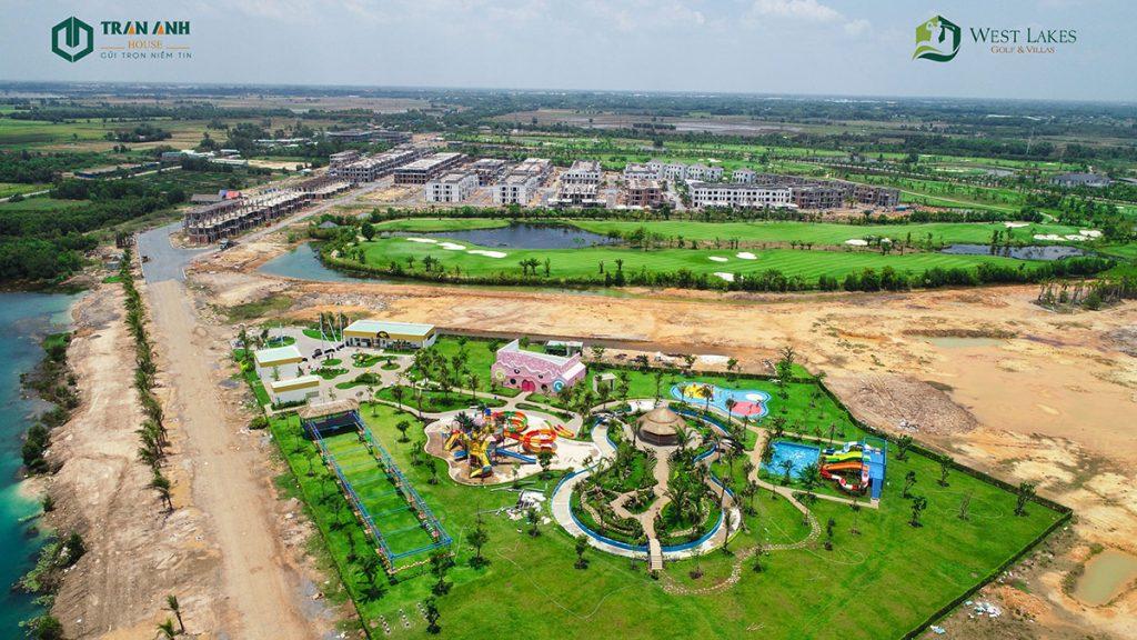 Tiến độ dự án West Lakes Golf & Villas mới nhất ngày 09/04/2021