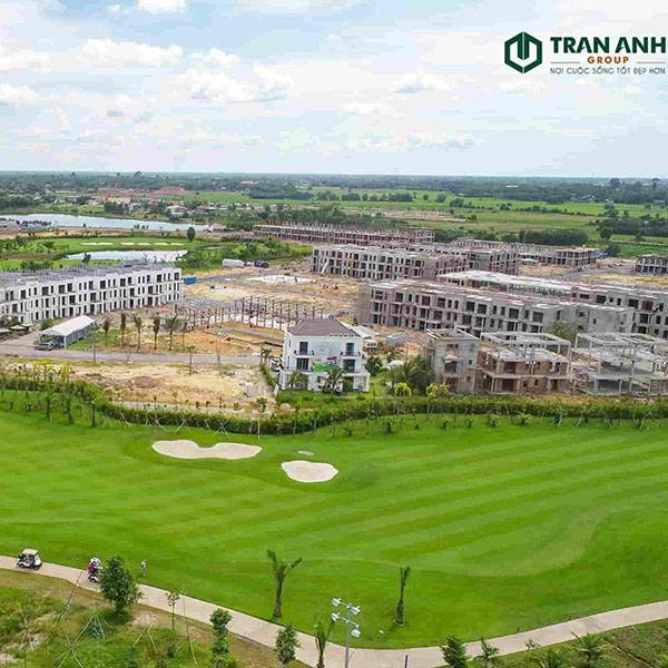 Tiến độ dự án West Lakes Golf & Villas ngày 15/6/2020