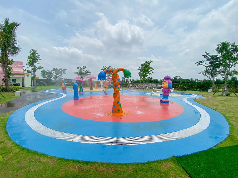 Khám phá công viên nước đầu tiên tại Long An được nằm trong khu đô thị sinh thái đẳng cấp West Lakes Golf & Villas