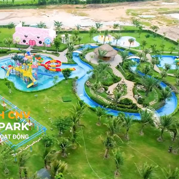 Dino Water Park, tổ hợp công viên nước đầu tiên tại Long An – West Lakes Golf & Villas